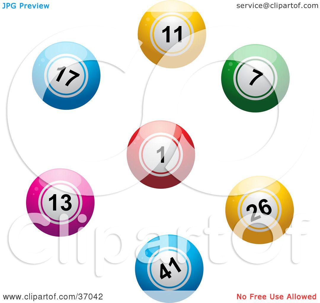 Blank Bingo Balls