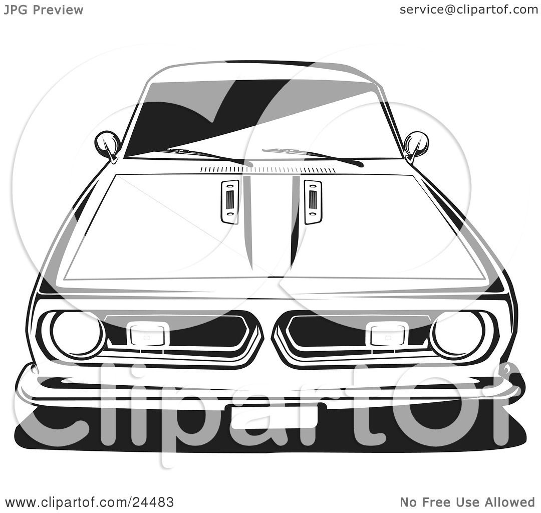 Barracuda Car Coloring Pages : Ford truck free coloring pages
