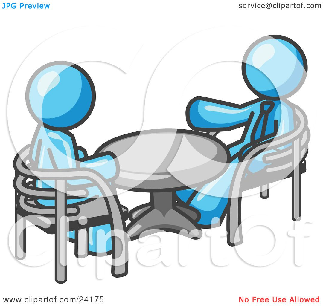 Men Sitting At A Table Clip Art - Hot Girls Wallpaper