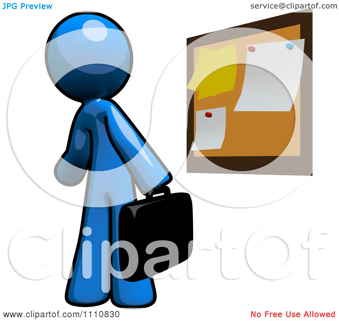 clipart job seeker blue guy viewing postings at a bulletin board rh clipartof com bulletin board clip art for loving people bulletin board clip art for loving people