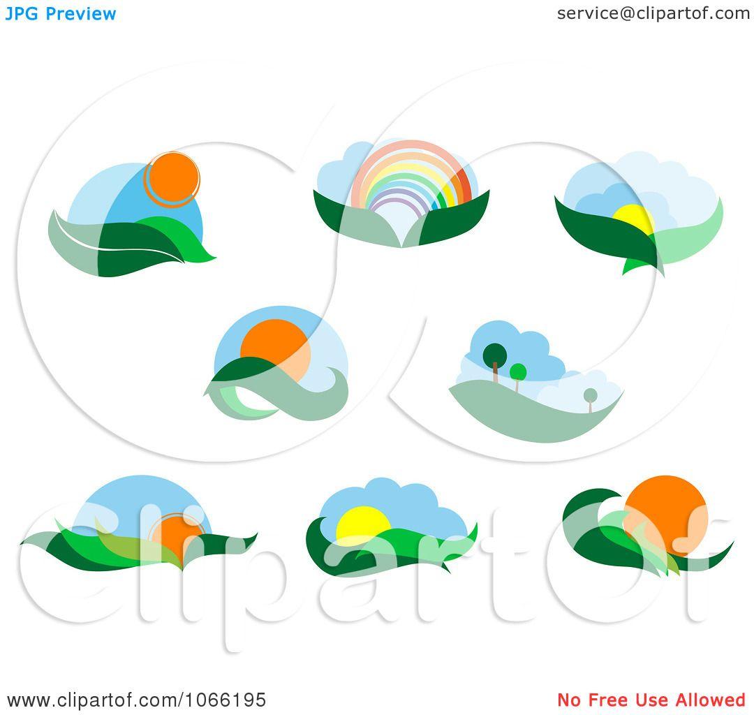 Landscape Illustration Vector Free: Royalty Free Vector Illustration