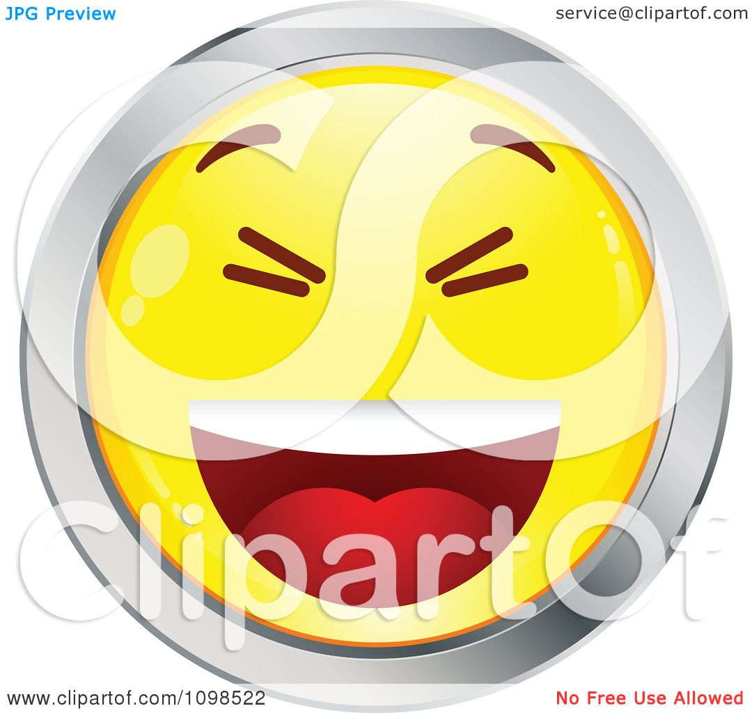 Cartoon Laughing Face