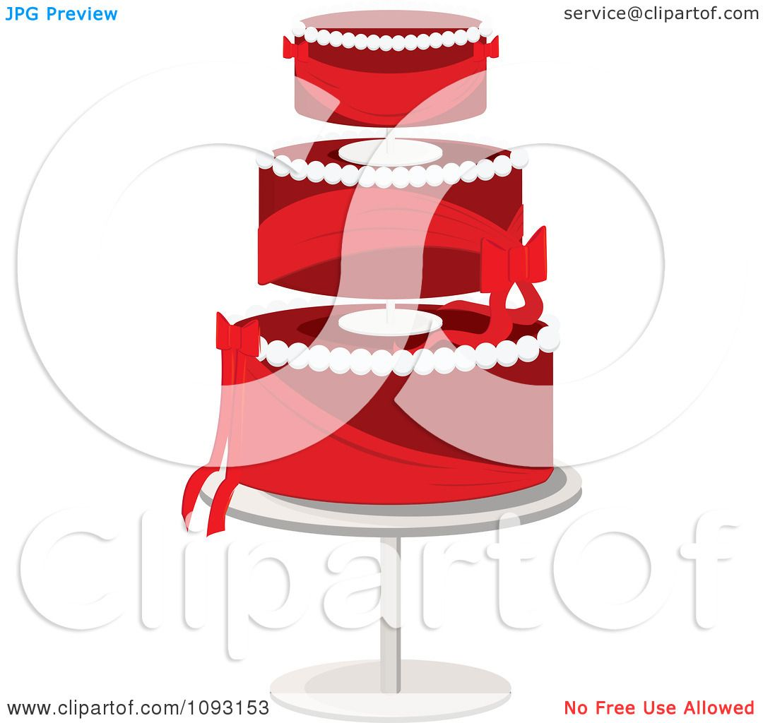 Red Cake Clipart : Afro Silhouette Clip Cake Ideas and Designs
