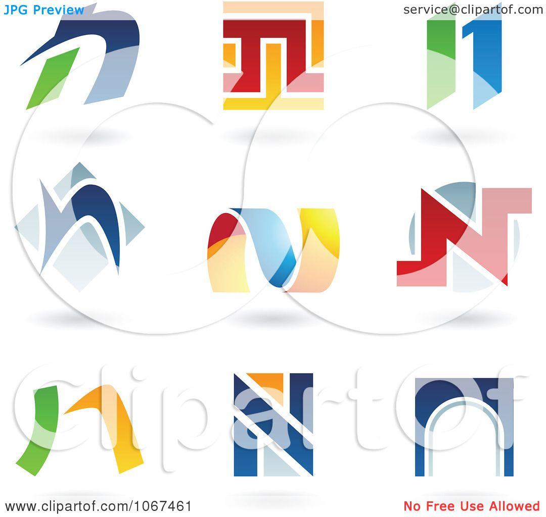 Clipart Letter N Logo Icons  N Logos