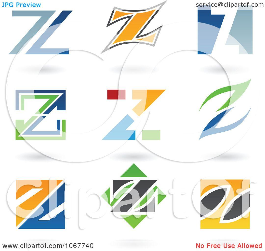 Clipart Letter Z Logo Icons  Z Logo Vector