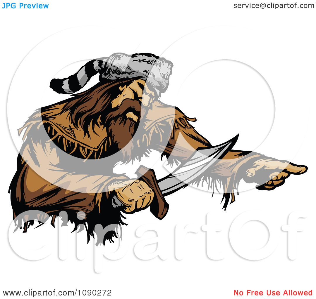 pioneer seed logo vector. clipart male pioneer holding a sword - royalty free vector illustration by chromaco seed logo