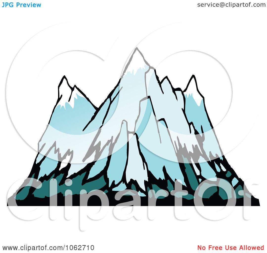vector clip art mountain - photo #49