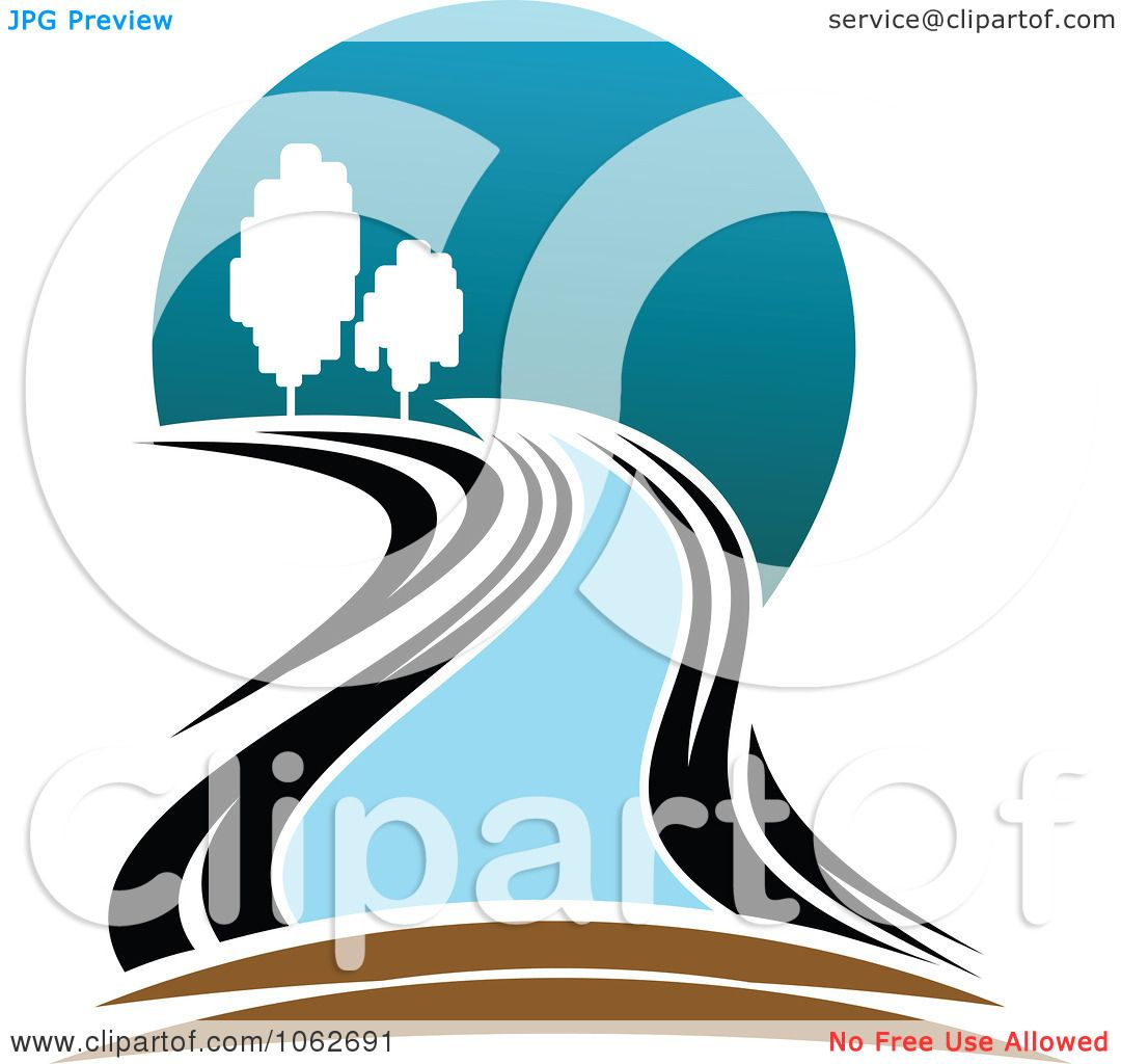 Clipart Nature And River Logo 5