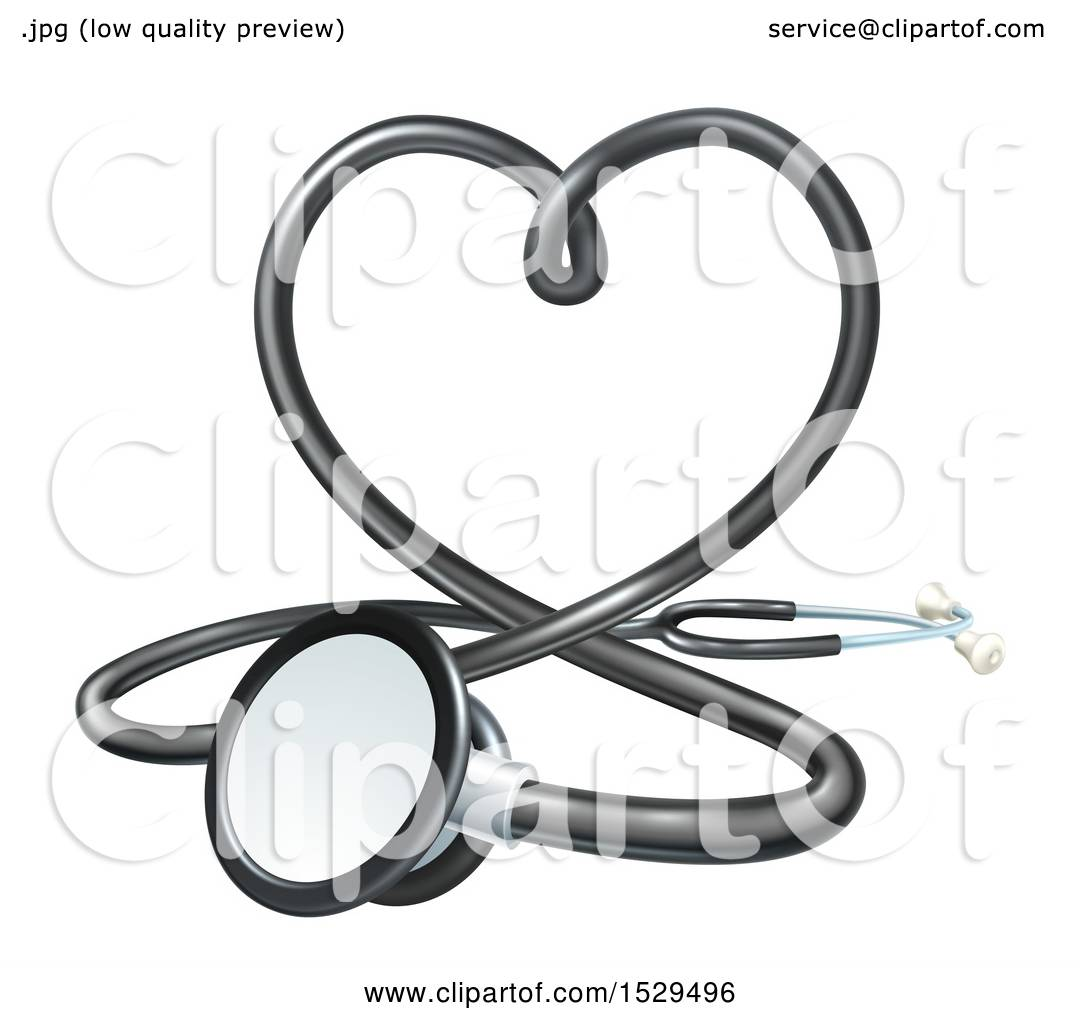 Clipart of a 3d medical stethoscope forming a love heart royalty clipart of a 3d medical stethoscope forming a love heart royalty free vector illustration by atstockillustration biocorpaavc Choice Image