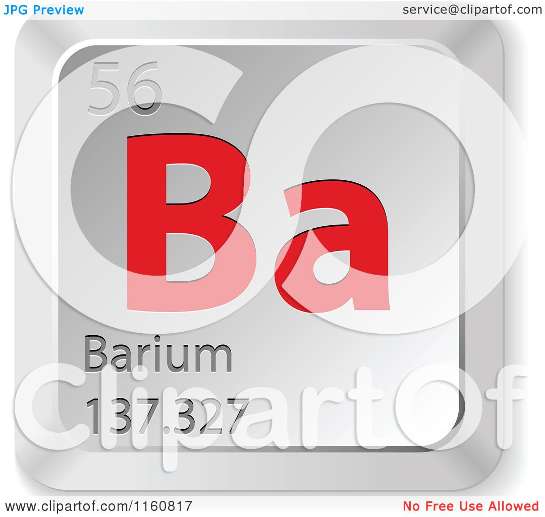 an overview of the characteristics of barium a chemical element Chemical splash goggles, aprons,  a visible color that is characteristic of that element  strontium, potassium, copper, and barium.
