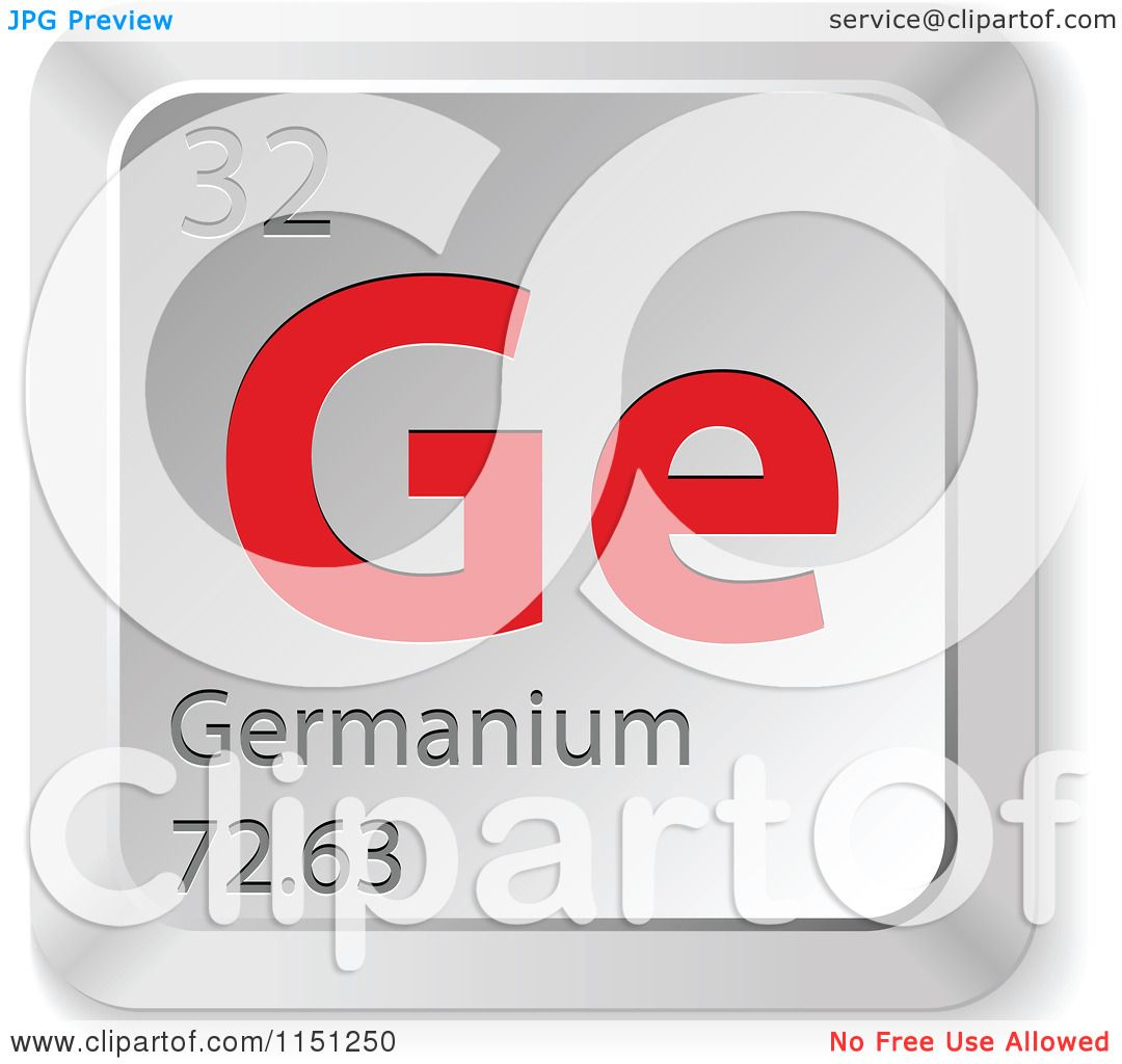 Clipart of a 3d red and silver germanium chemical element keyboard clipart of a 3d red and silver germanium chemical element keyboard button royalty free vector clipart by andrei marincas buycottarizona