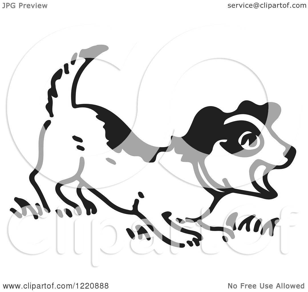 free clipart of dog barking - photo #24