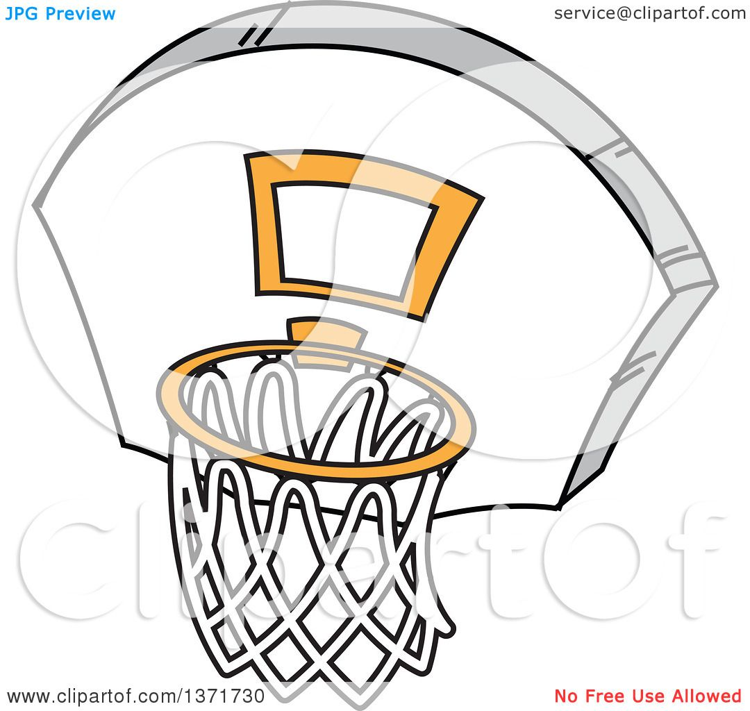 clipart of a basketball hoop royalty free vector illustration by rh clipartof com basketball hoop clipart clipart basketball hoop