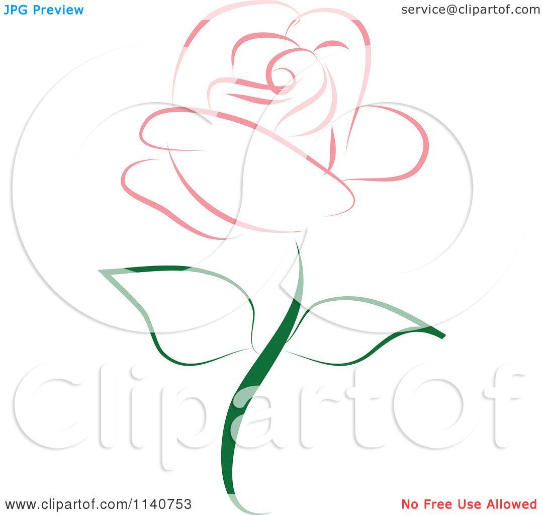 Beautiful Single Pink Rose