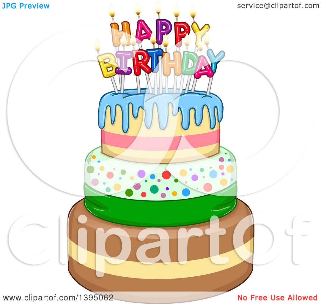 Birthday Cake Without Candles Clipart Free Clipart Download Free