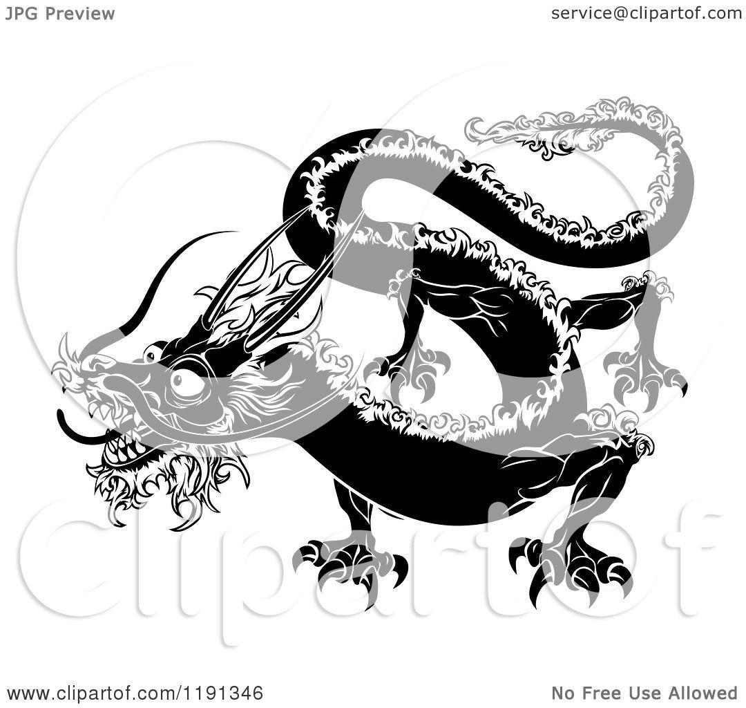 Chinese Zodiac Dragon Drawing Chinese Zodiac Dragon