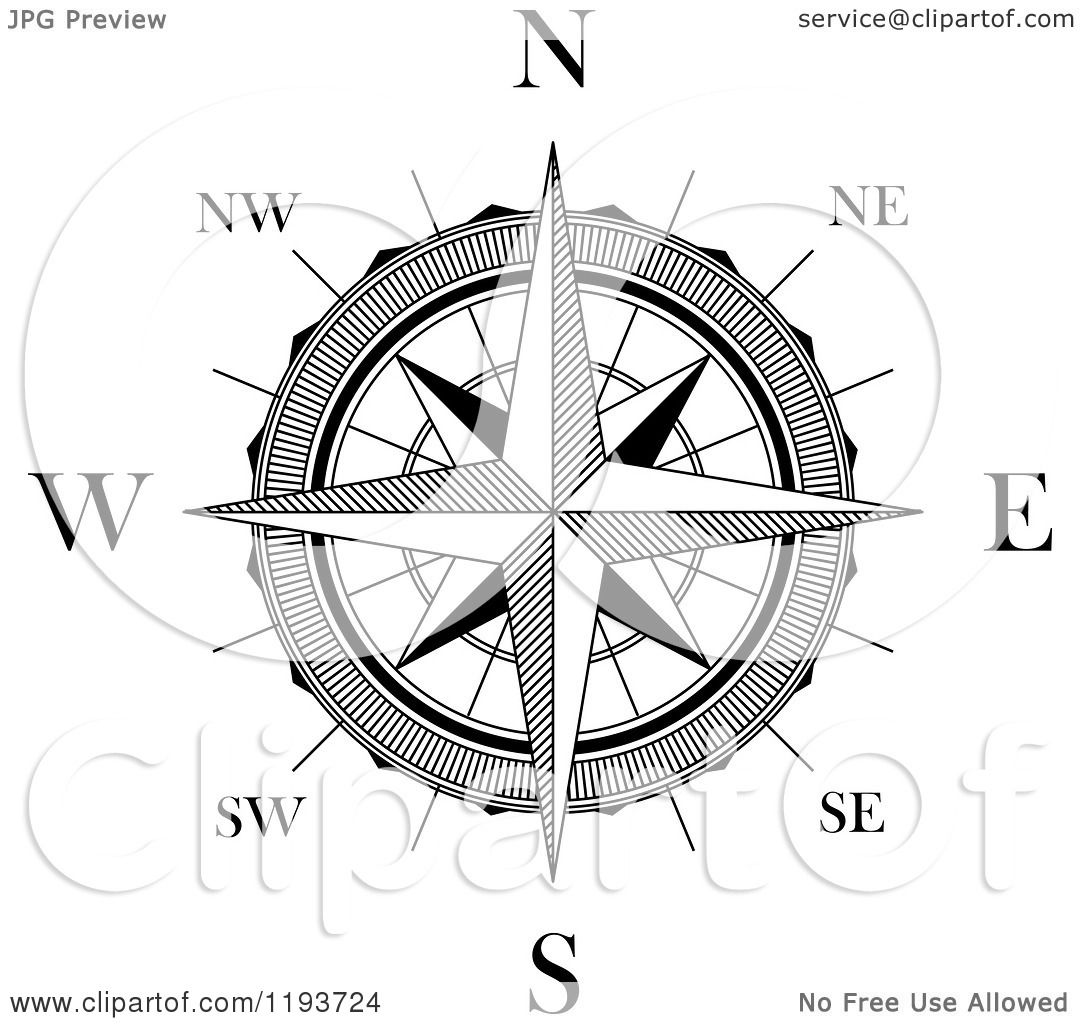 how to read a compass degrees and minutes