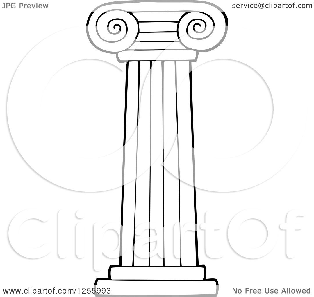 Pillars colouring pages for Six pillars of character coloring pages