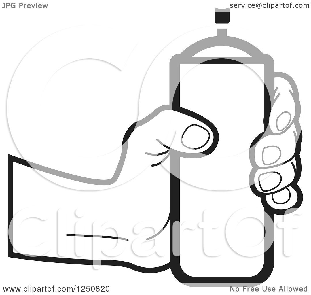 Spray paint cans Royalty Free Vector Image - VectorStock