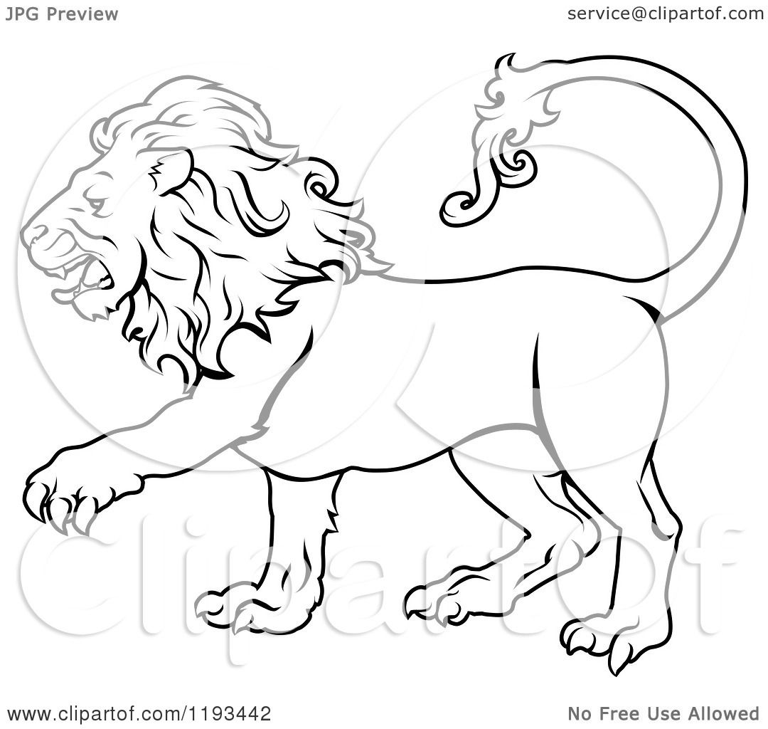Leo The Lion Coloring Pages Draing of The Leo Lion