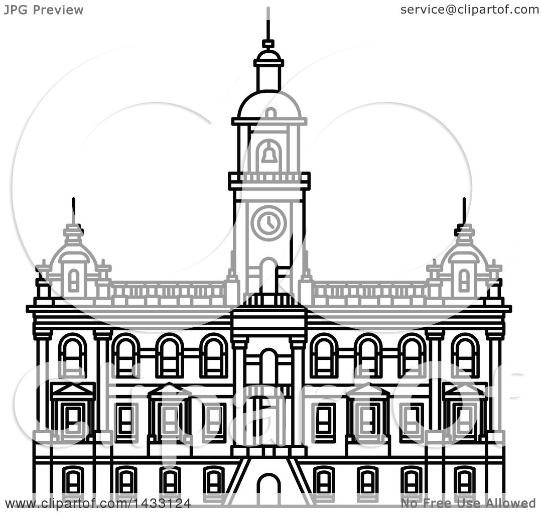 Line Drawing Of New Zealand : Clipart of a black and white line drawing styled new