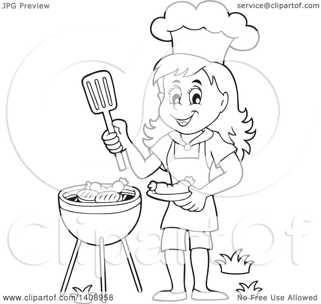 Hair Stylist Pictures Clip Art Clip Art Heart Outline likewise Tt Dad Bbq likewise Bbq Black And White Clipart furthermore U11025213 also 1628 Free Clipart Of A Sausage. on bbq grill clip art