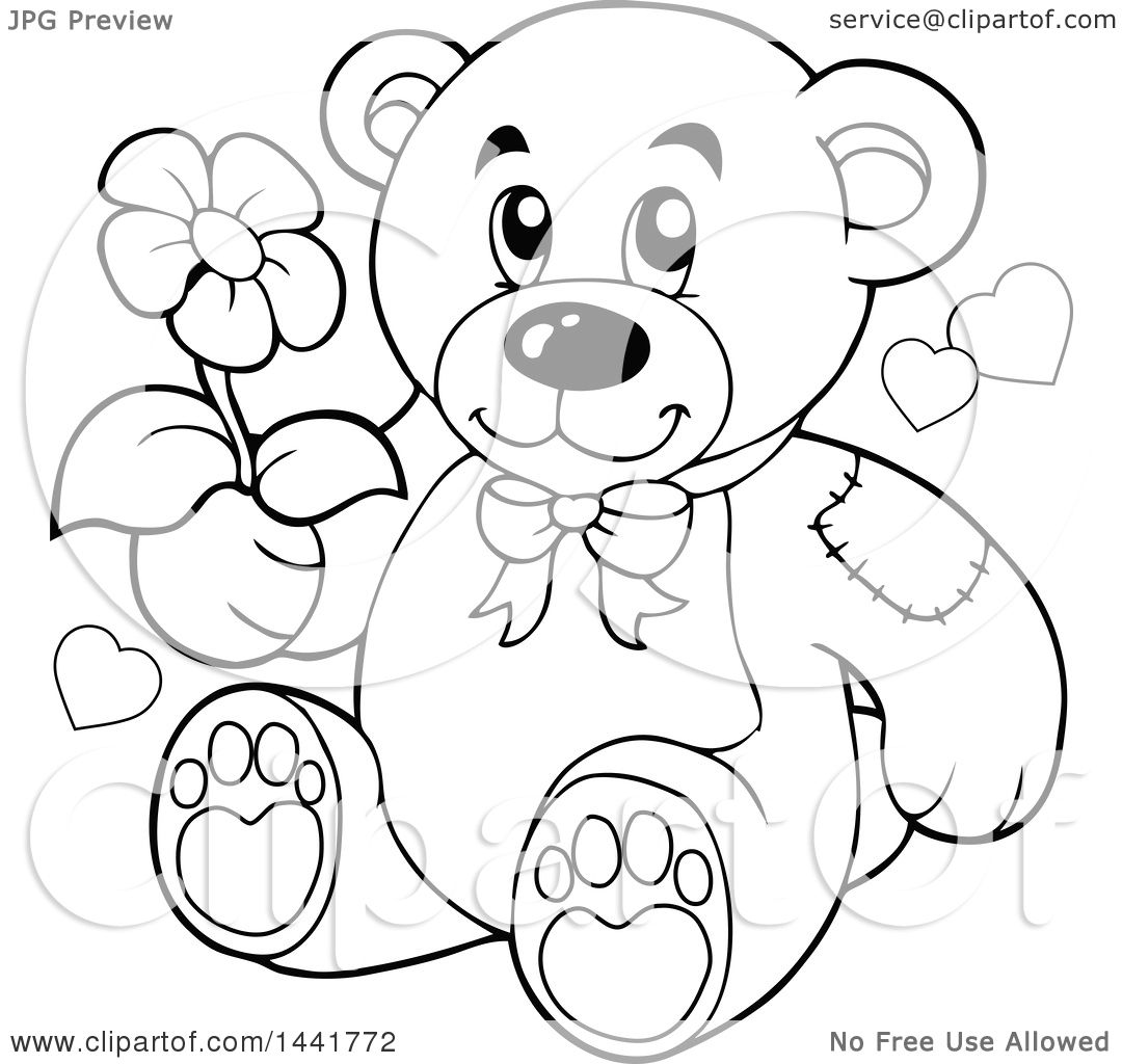 Pictures Of Teddy Bears Holding Flowers Beautiful Flowers 2019