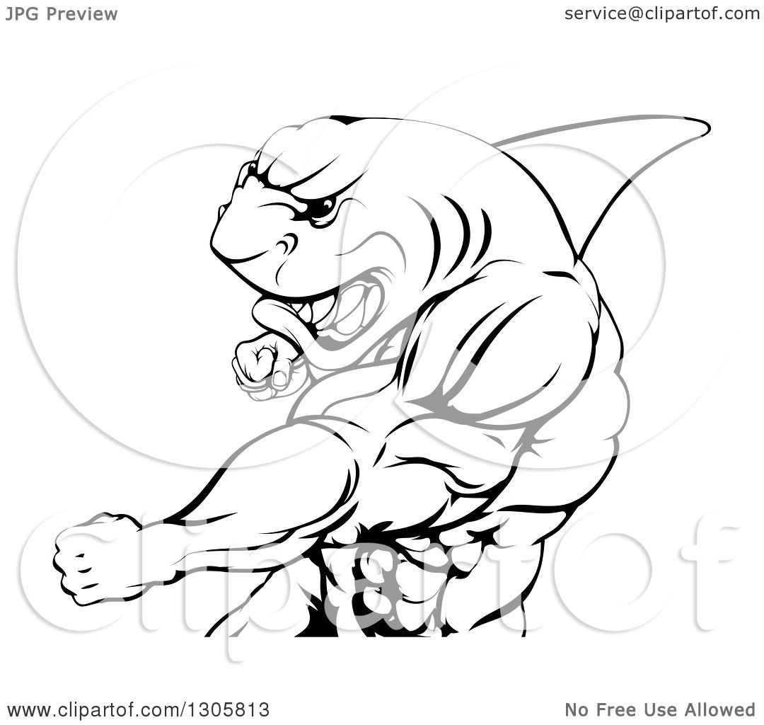 muscle man coloring pages - photo#38