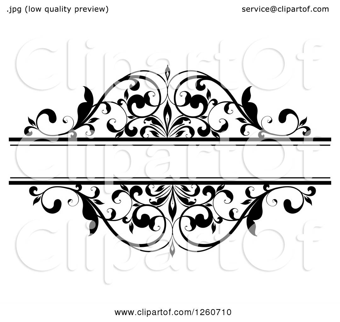 clipart of a black and white ornate flourish swirl frame royalty rh clipartof com Decorative Swirls Clip Art Swirl Clip Art