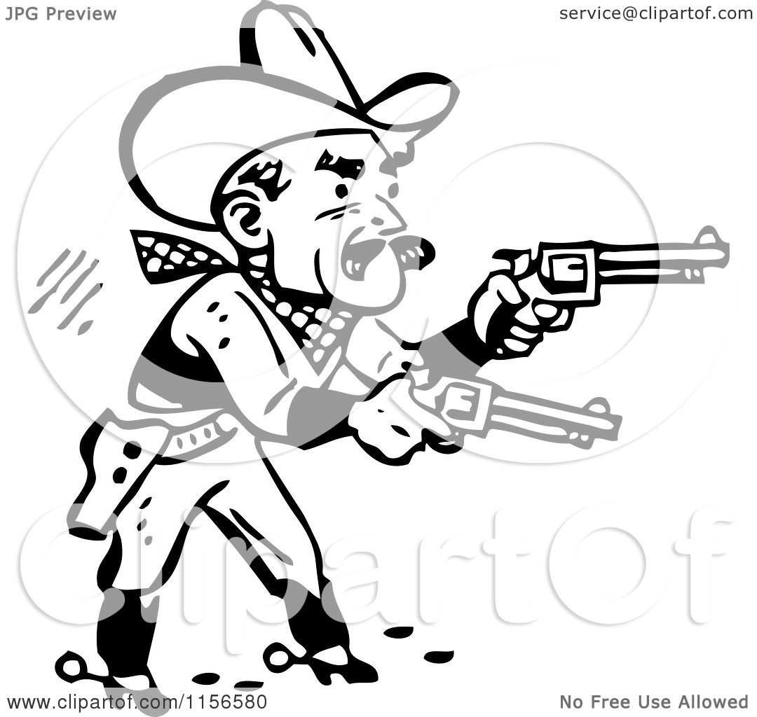 Western Cowboy Clipart Black And White Free Clipart Images » Home ...