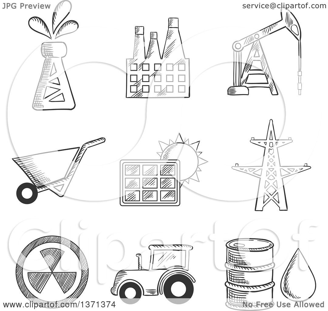 oil well coloring pages - photo#14