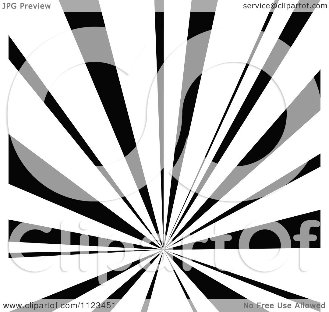 clipart of a black and white sunbeam ray background 3 royalty free vector illustration by dero. Black Bedroom Furniture Sets. Home Design Ideas