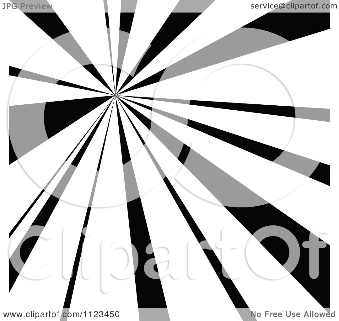 clipart of a black and white sunbeam ray background 4 royalty free vector illustration by dero. Black Bedroom Furniture Sets. Home Design Ideas