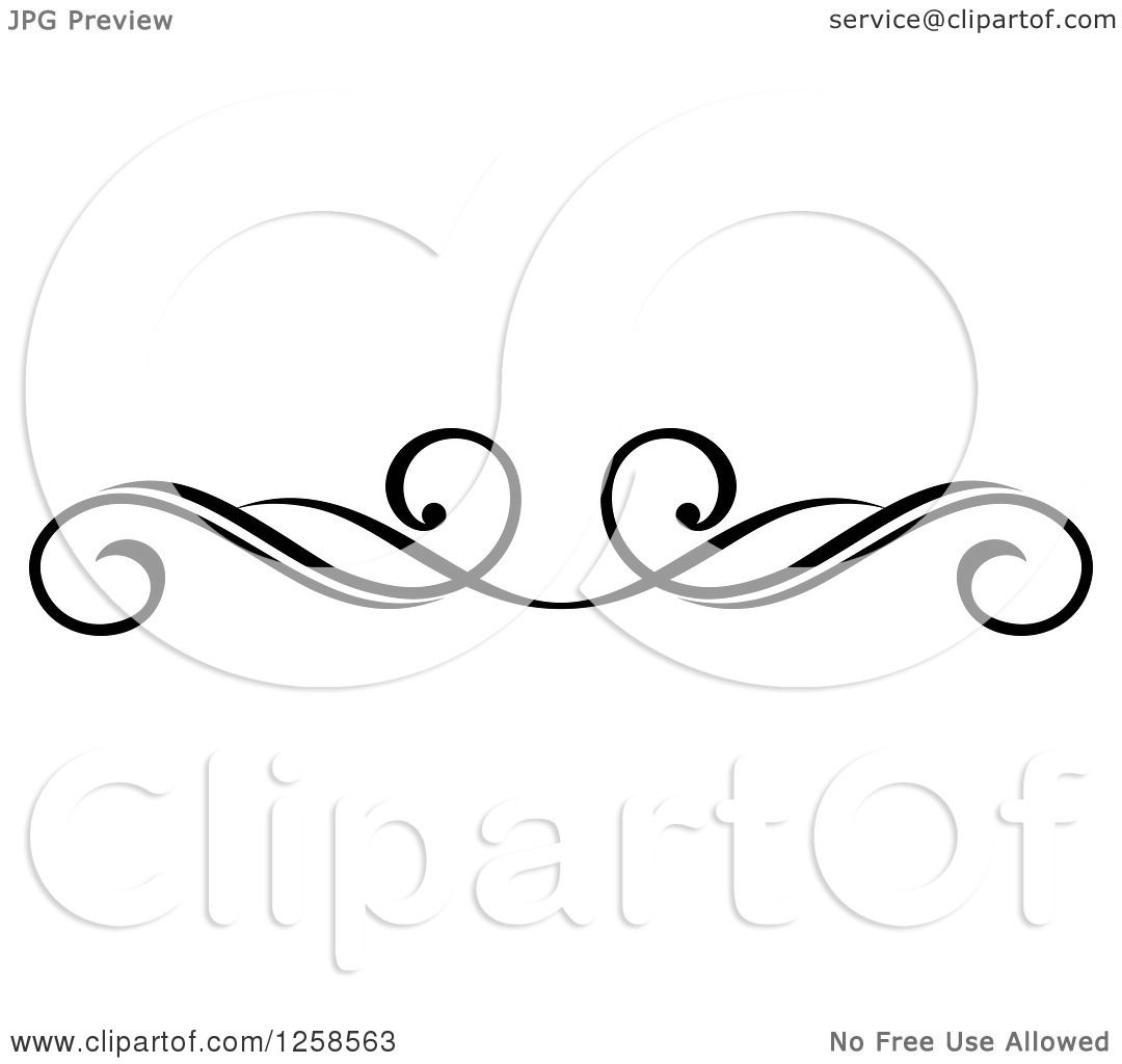 clipart of a black and white swirl rule divider border divider clip art diamonds divider clip art rustic