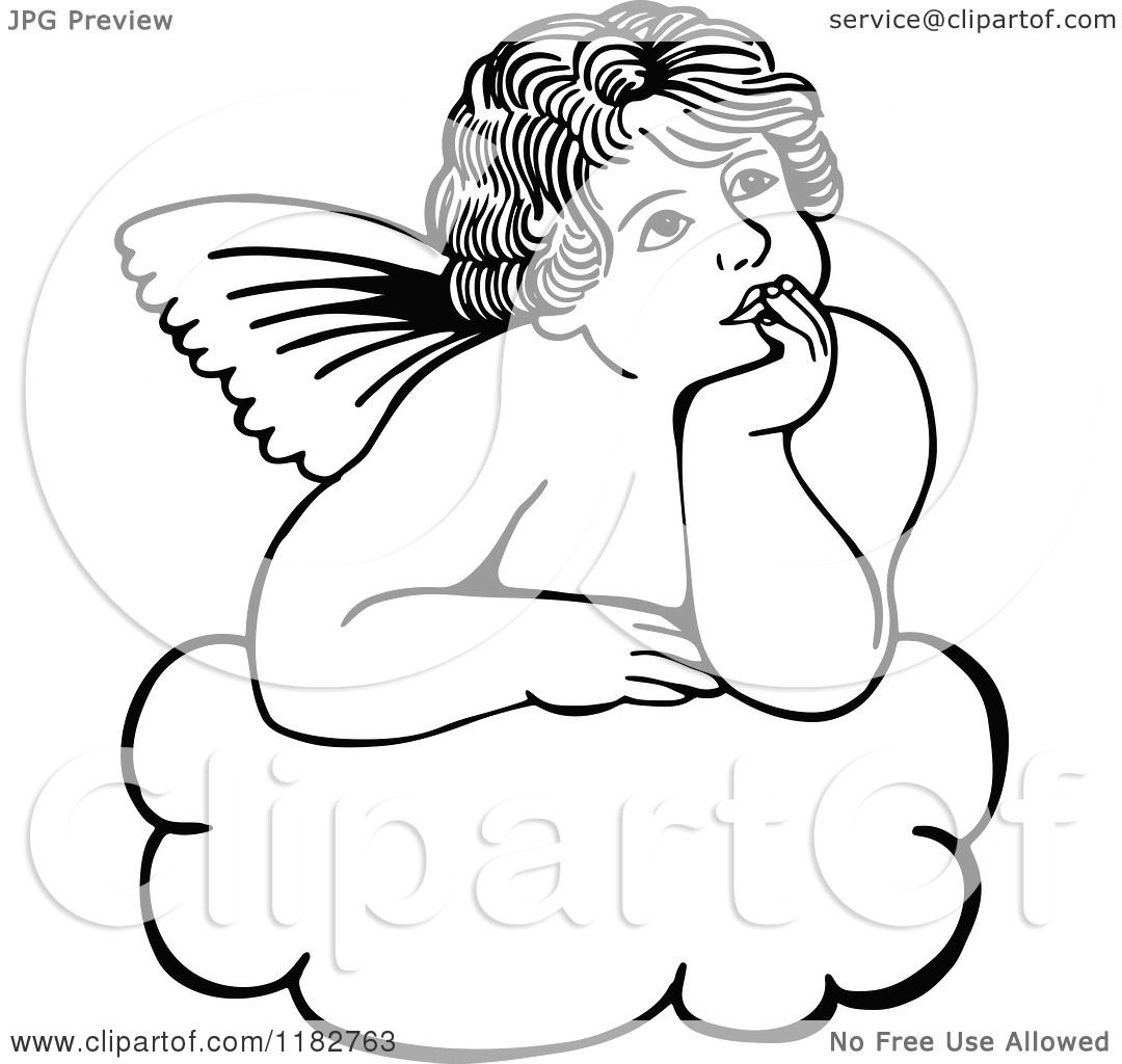 coloring pages cherubs - photo#34