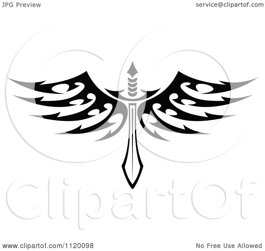 Sword With Wings Png - Free Transparent PNG Clipart Images Download
