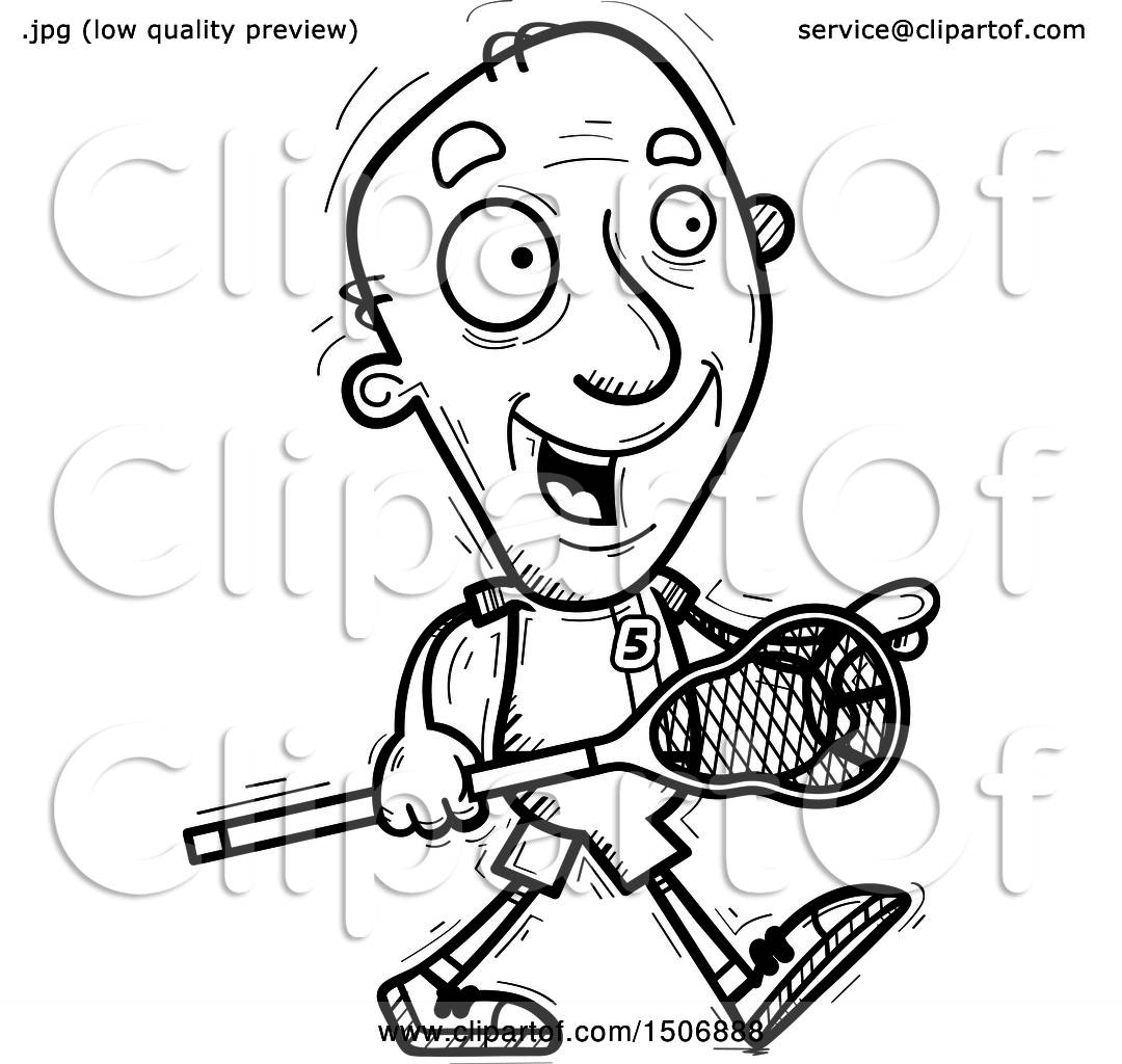 royalty free lacrosse clip art vector images auto electricalclipart of a black and white walking senior male lacrosse