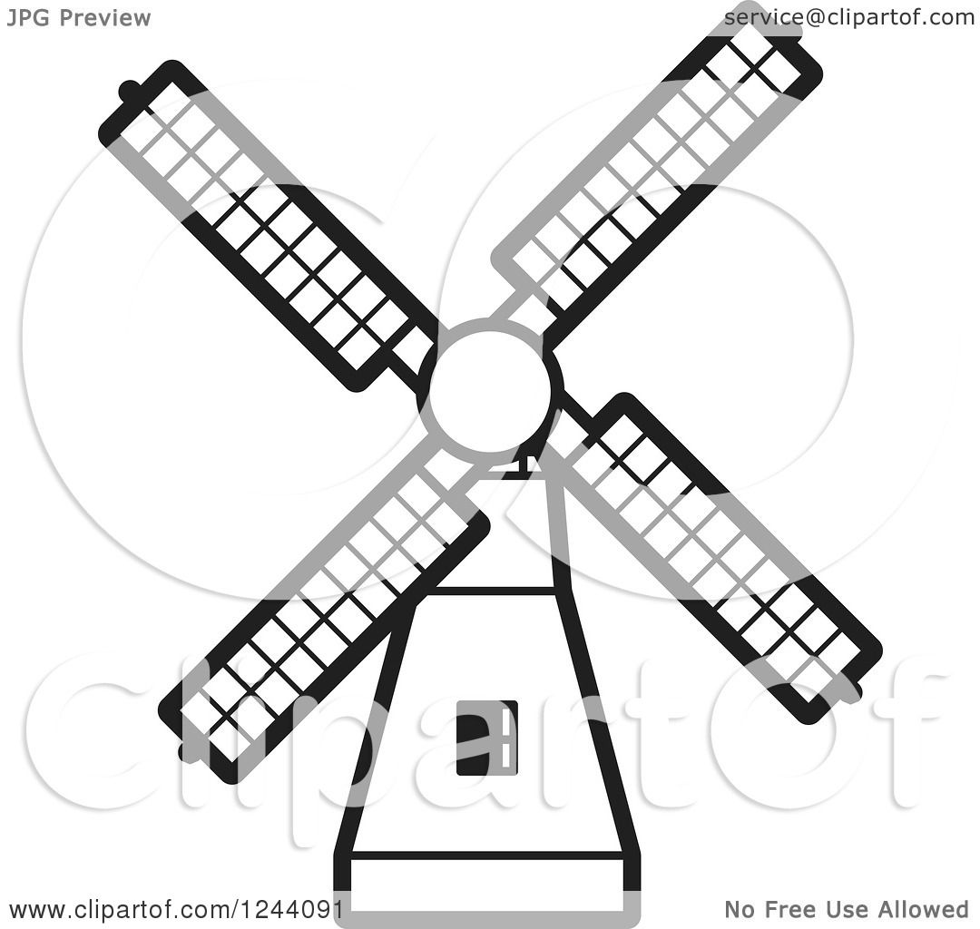 mill coloring pages