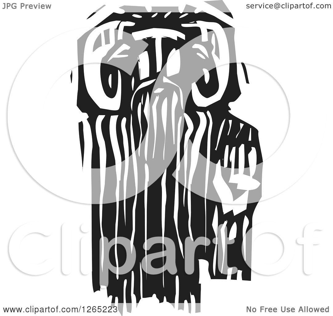 Clipart of a black and white woodcut greek god pan faun royalty clipart of a black and white woodcut greek god pan faun royalty free vector illustration by xunantunich buycottarizona