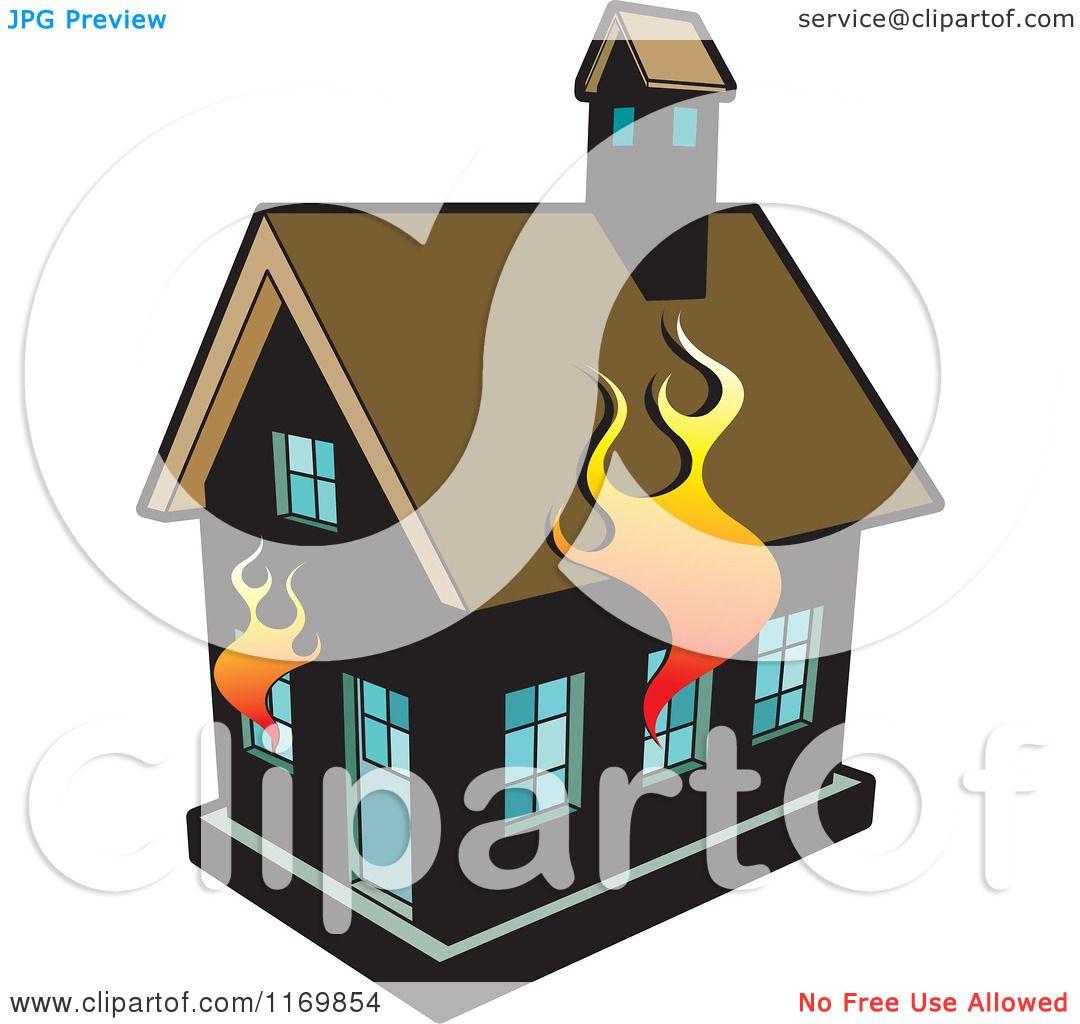 clipart burning house - photo #30