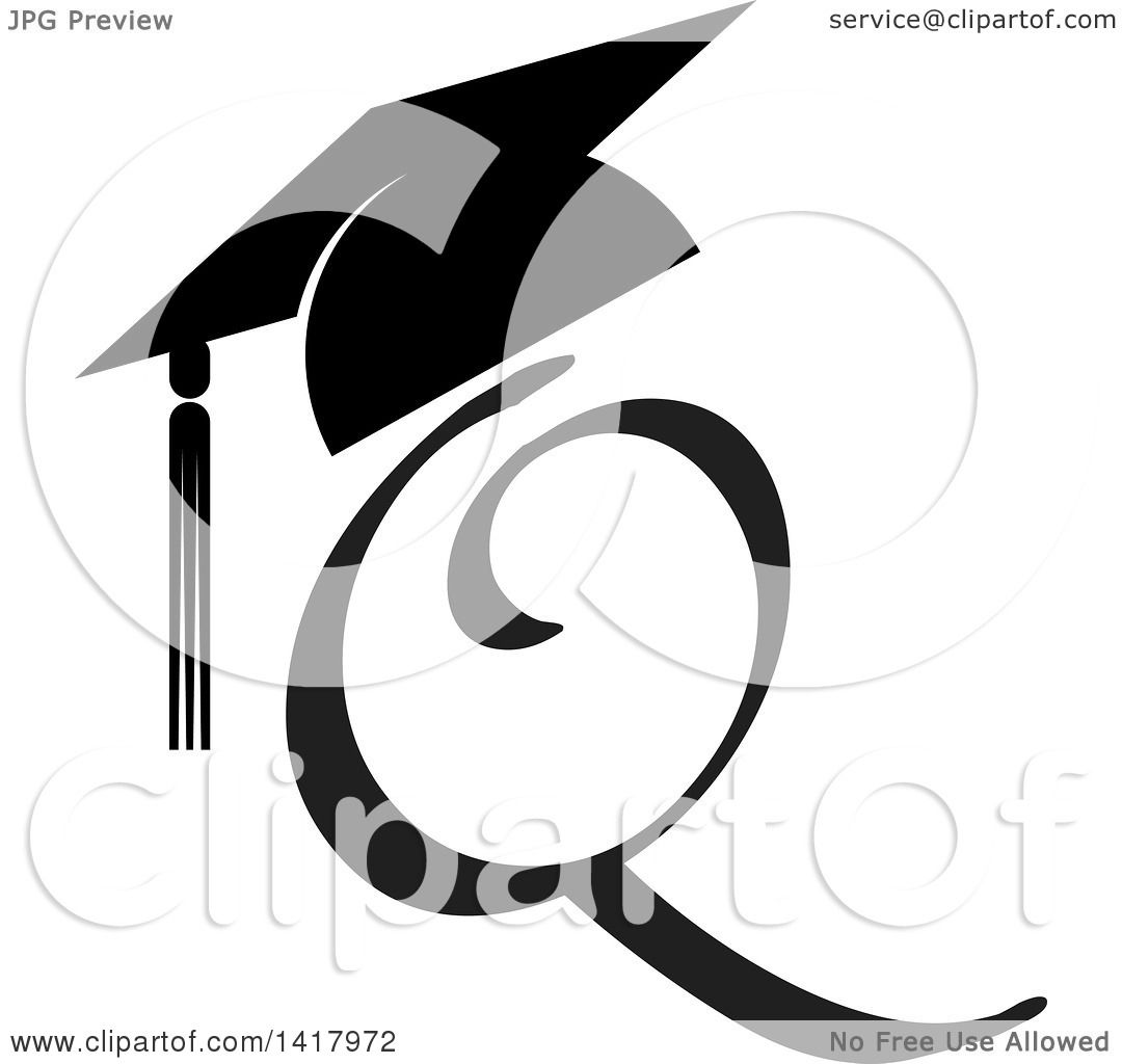 royalty free rf graduation cap clipart illustrations vector