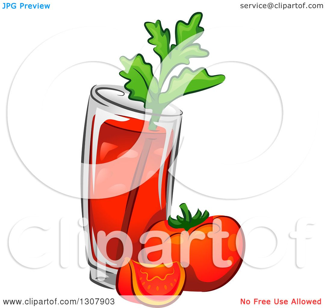 bloody mary drink clipart - photo #18