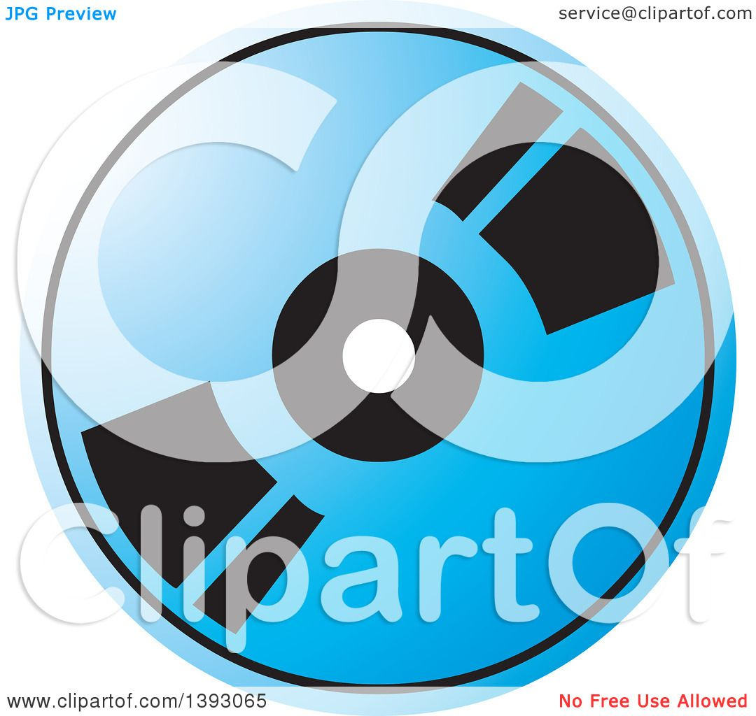 clipart of a blue cd or dvd royalty free vector illustration by rh clipartof com dvd player clipart dvd cover clipart
