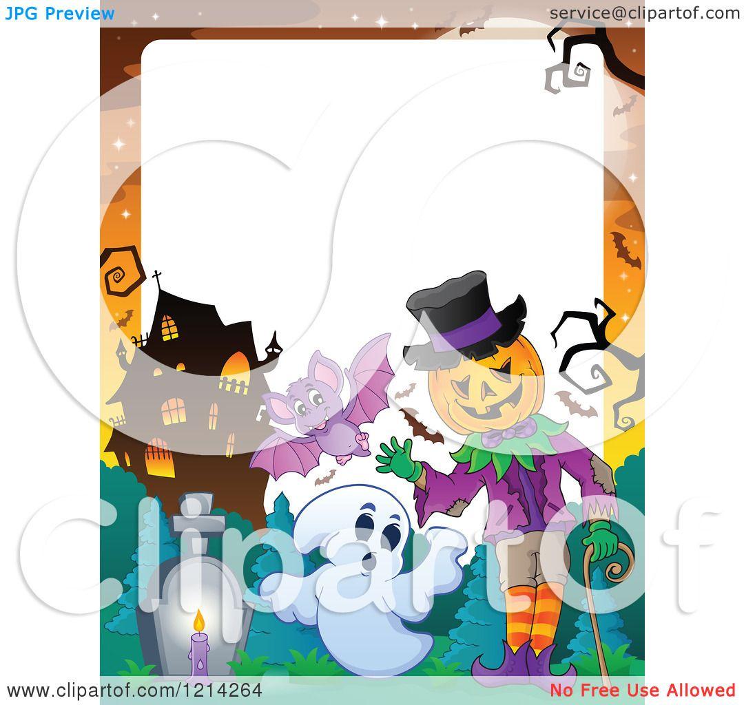 Halloween Bat Border Clipart - Viewing Gallery