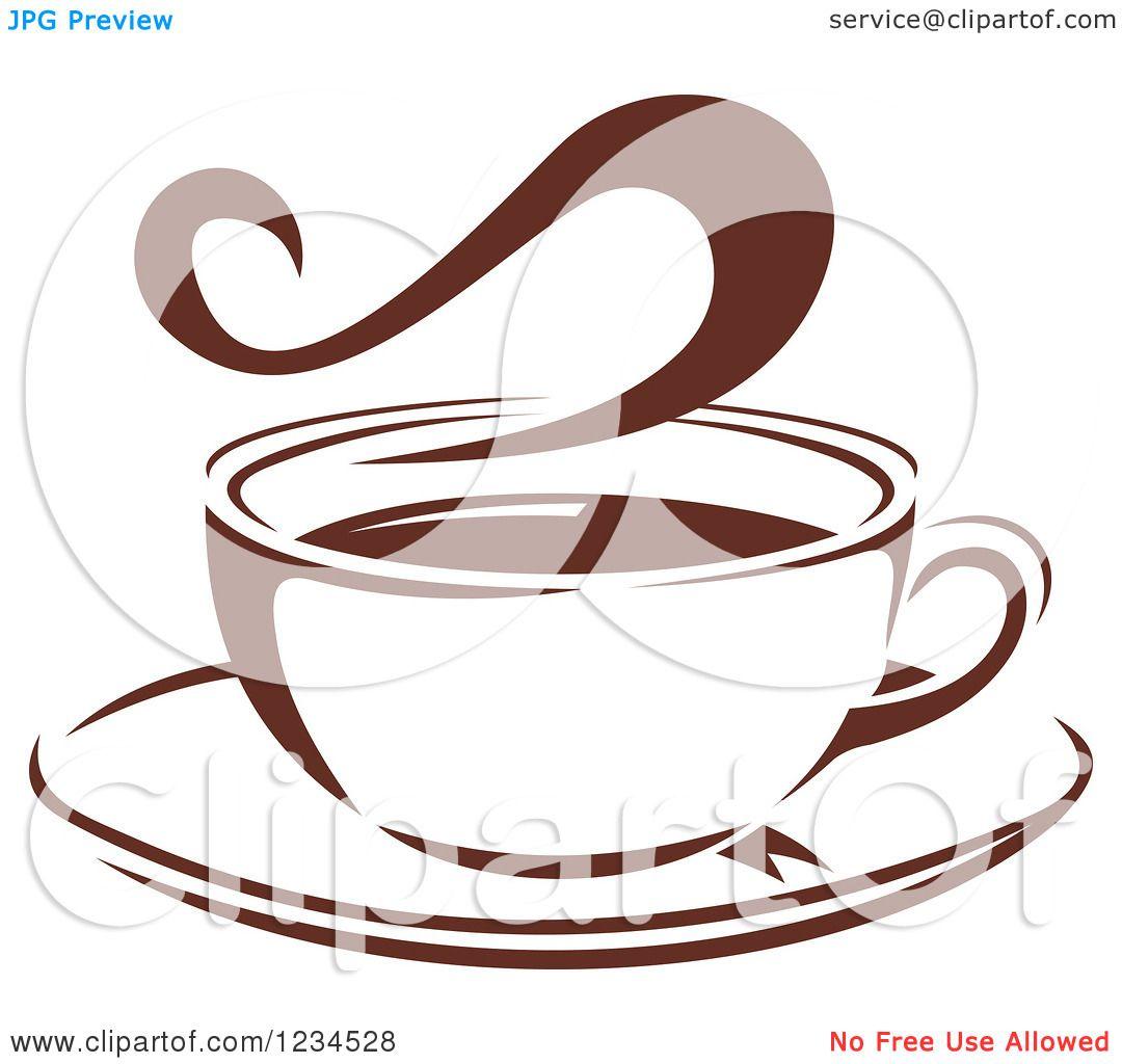 Steam coffee cup - e073
