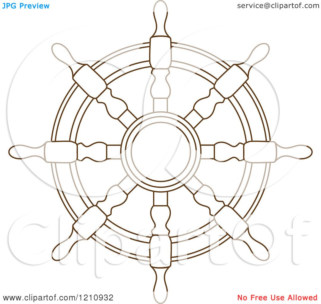 Clipart of a brown ship steering wheel helm 6 royalty free vector clipart of a brown ship steering wheel helm 6 royalty free vector illustration by vector tradition sm ccuart Images