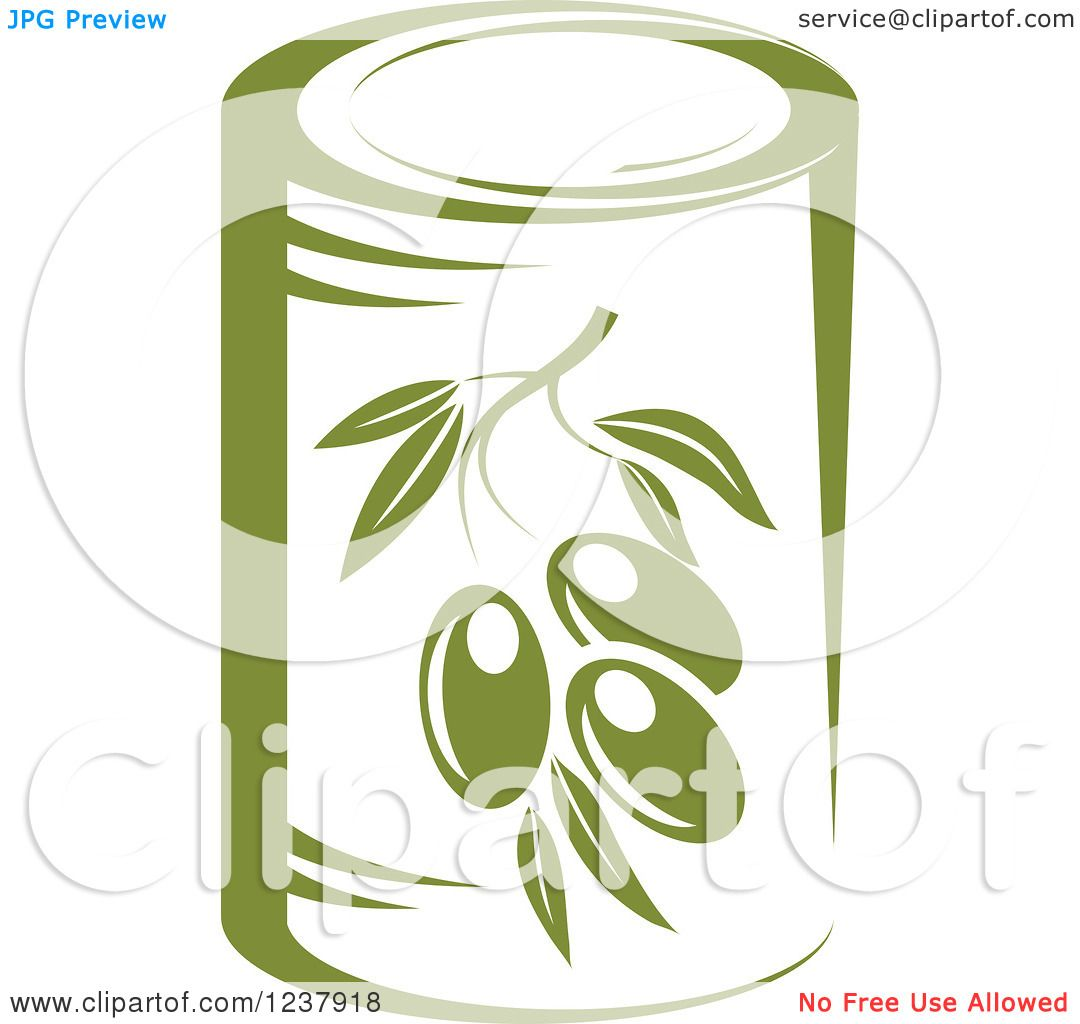 Royalty-Free (RF) Olive Clipart, Illustrations, Vector Graphics #1