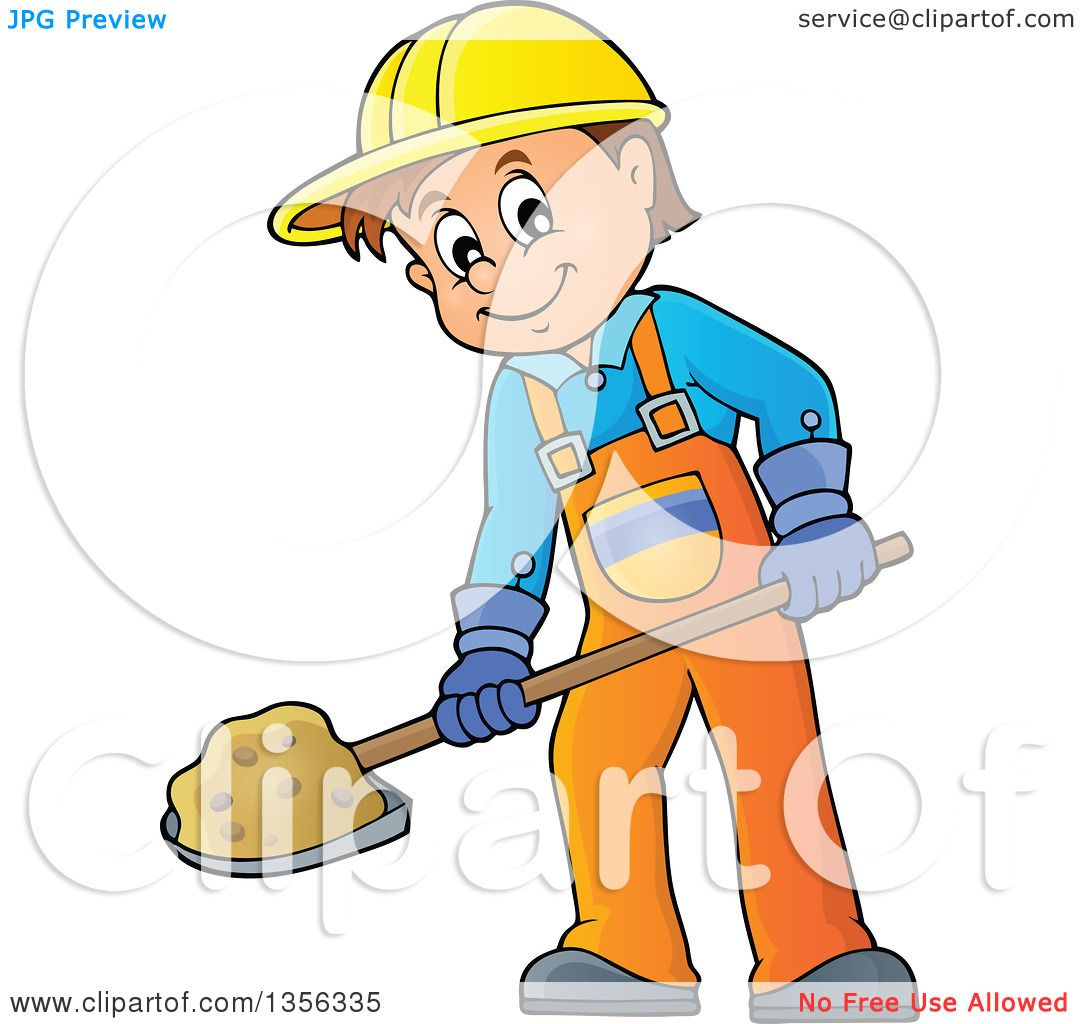 clipart construction worker cartoon - photo #28