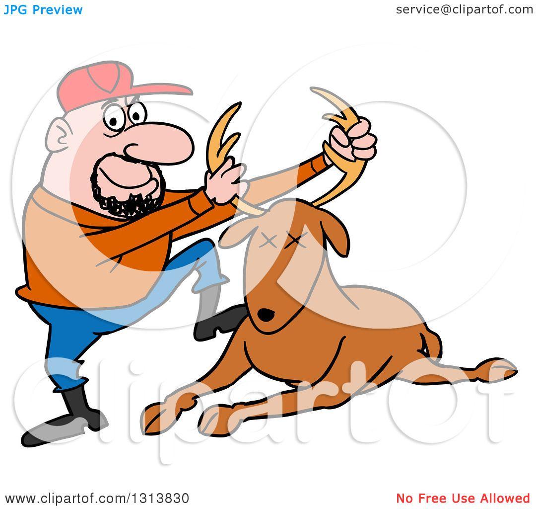 Download Hunting Clipart Deer Antler And Use This Week ...   Deer Hunting Cartoon Clipart