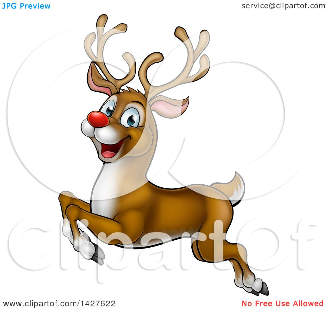 Real rudolph the red nosed reindeer flying - photo#51